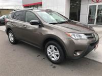 Options:  2014 Toyota Rav4 Le Do You Want It