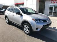 Options:  2014 Toyota Rav4 Le This Wonderful-Looking