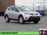 AWD, CarFax One Owner! Low miles for a 2014! Back-up