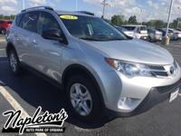 Recent Arrival! 2014 Toyota RAV4 in Silver, AUX