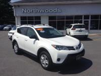 CARFAX One-Owner. Clean CARFAX. Super White 2014 Toyota
