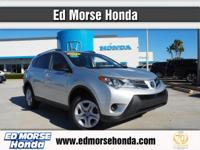 This outstanding example of a 2014 Toyota RAV4 LE is