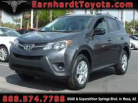 We are pleased to offer you this CERTIFIED 2014 TOYOTA