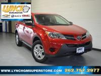 2014 Toyota RAV4 LE 6-Speed Automatic 2.5L 4-Cylinder