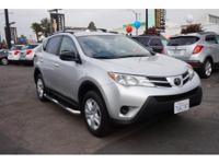 Options:  2014 Toyota Rav4 Le|Le 4Dr Suv|Accident Free