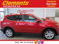 Options:  2014 Toyota Rav4 Awd 4Dr Limited|Navigation