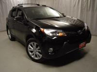 2014 Toyota RAV4 Black Certified. CARFAX One-Owner.