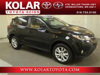 RAV4 Limited, AWD, ONE Owner Per AUTO CHECK History