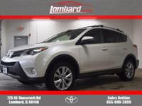 Options:  2014 Toyota Rav4 Limited Awd W/ Navi|Blizzard