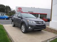 ONE OWNER!! 2014 TOYOTA RAV4 LIMITED!! AWD, TOUCH