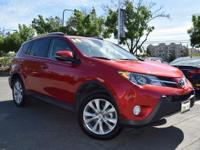 CARFAX One-Owner. Clean CARFAX. RED 2014 Toyota RAV4