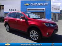 ONLY 25,000 MILES ON THIS 2014 TOYOTA RAV4 AWD LIMITED
