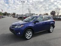 Blue Crush Metallic 2014 Toyota RAV4 Limited FWD