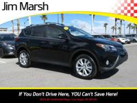 RAV4 Limited, 2014 model with lots of space and seating