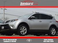2014 Toyota RAV4 Limited in Classic Silver Metallic,