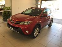 One-Owner. Clean CARFAX. Red 2014 Toyota RAV4 XLE AWD