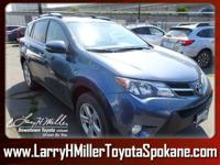 Scores 29 Highway MPG and 22 City MPG! This Toyota RAV4