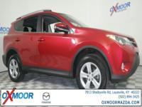 2014 Toyota RAV4 XLE AWD. CARFAX One-Owner. Odometer is