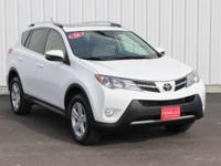 Options:  2014 Toyota Rav4 Xle|White|Full Exterior &