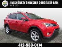 Recent Arrival! 2014 Toyota RAV4 XLE CARFAX One-Owner.