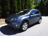 CERTIFIED TOYOTA XLE RAV 4, FULLY SERVICED AND READY TO