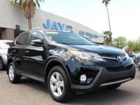 Options:  2014 Toyota Rav4 4Dr Xle Black Gray 44 000