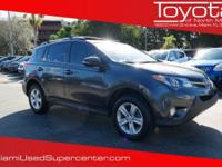 Options:  2014 Toyota Rav4 Xle|Magnetic Gray