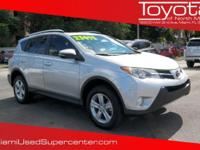 Options:  2014 Toyota Rav4 Xle|Classic Silver