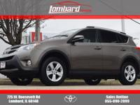 2014 Toyota RAV4 XLE in Pyrite Mica, **ONE OWNER**,