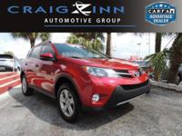 CarFax 1-Owner, This 2014 Toyota RAV4 XLE will sell