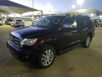 We are excited to offer this 2014 Toyota Sequoia. Your