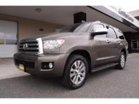Options:  2014 Toyota Sequoia Limited Brown 63 611