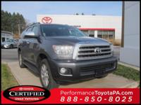 ONE OWNER!! 2014 TOYOTA SEQUOIA PLATINUM!! 4WD, i-FORCE