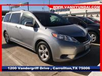 2014 Toyota Sienna   Van Hyundai proudly serving the