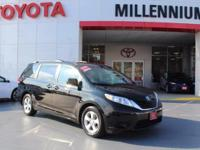 Check out this gently-used 2014 Toyota Sienna we