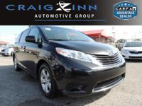New Arrival! CarFax One Owner! This Toyota Sienna is