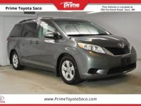 CARFAX One-Owner! Toyota Certified! 2014 Toyota Sienna