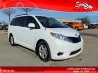 Carfax One Owner, Clean Vehicle History Report, Sienna