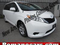 A 2014 toyota sienna with less than 50,000 miles on it!