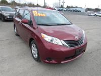 Recent Arrival! This 2014 Toyota Sienna LE in Red