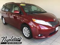 New Price! Recent Arrival! 2014 Toyota Sienna in Red,