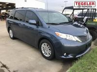 Blue 2014 Toyota Sienna FWD 6-Speed Automatic
