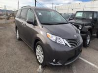 Options:  2014 Toyota Sienna||1St|2Nd And 3Rd Row Head