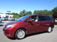 CarFax 1-Owner, This 2014 Toyota Sienna XLE will sell