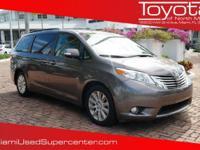 Options:  2014 Toyota Sienna Limited|Gray/|V6 3.5 L