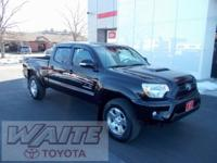 2014 Toyota Tacoma Double Cab Long Bed TRD Sport Black