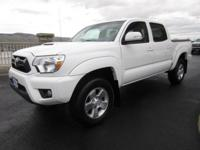 Built for action, our 2014 Toyota Tacoma Double Cab V6