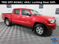 Toyota Certified One Owner Tacoma 4X4 TRD Off-Road,