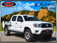 This *TRD T/X BAJA Edition* Tacoma is equipped with a