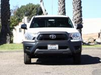 Options:  2014 Toyota Tacoma Base|White|Drive A Little